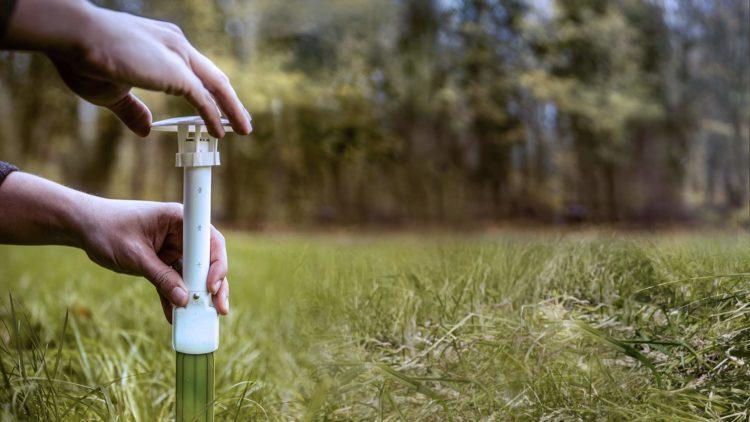 Met slimme sensors meten we de hitte en droogte in jouw tuin.